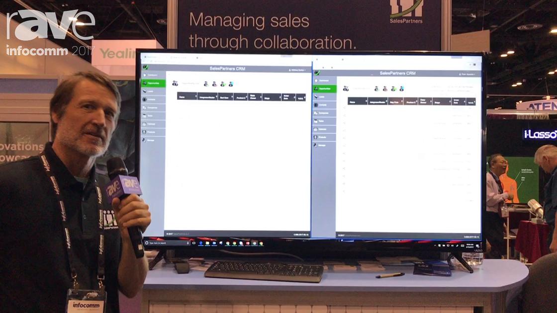 InfoComm 2017: SalesPartners Exhibits CRM Software