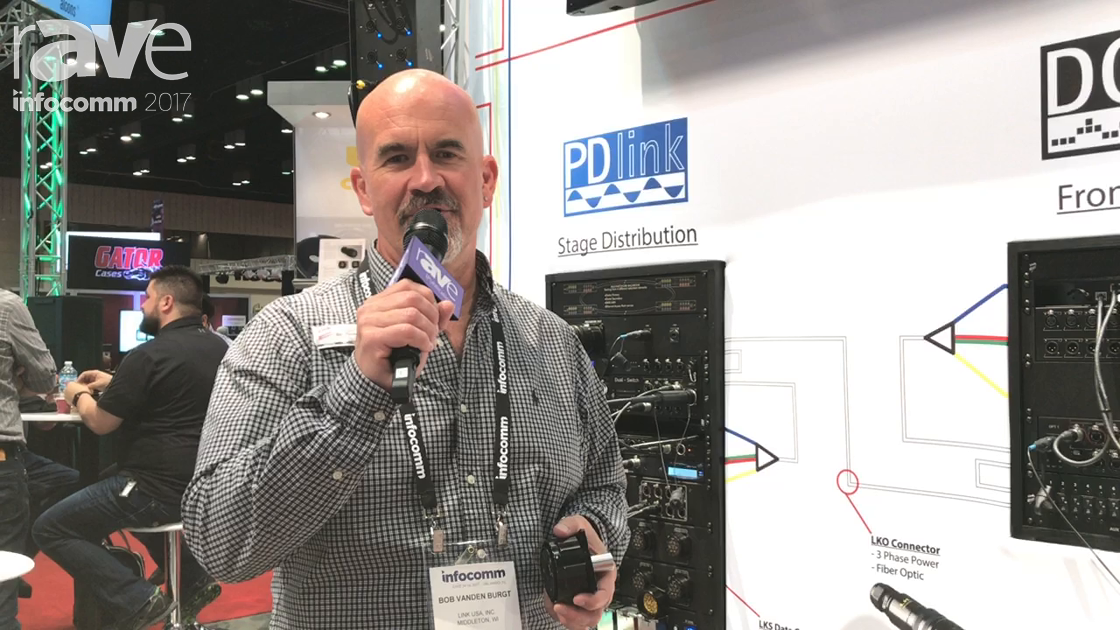 InfoComm 2017: Link USA Showcases LKO Hybrid Optical Power Connectors