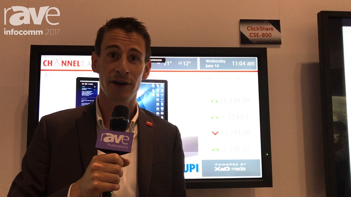 InfoComm 2017: Barco Discusses the ClickShare CSE-800 Board Room Experience