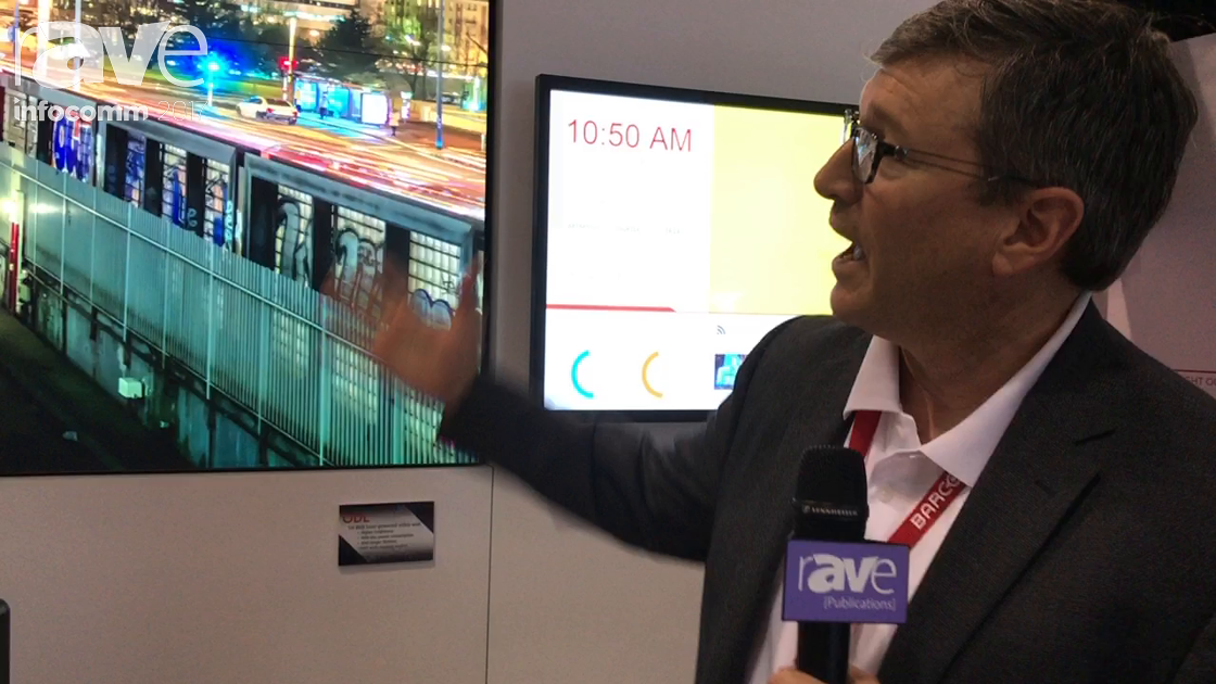 InfoComm 2017: Barco Explains the ODL Rear Projection Cube and OpSpace System