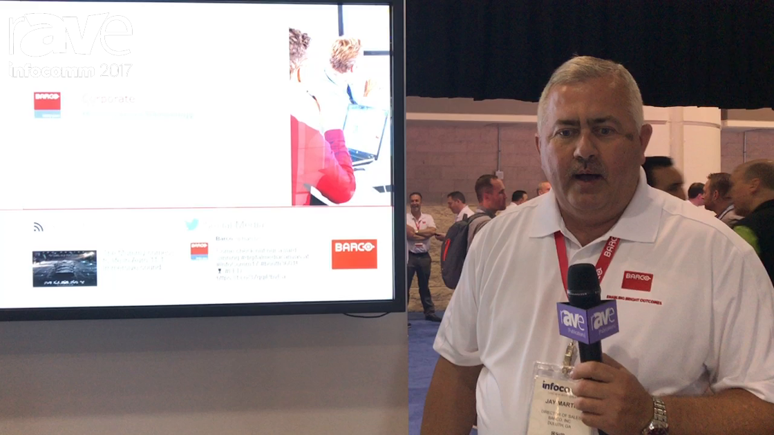 InfoComm 2017: Barco Talks About the X20 System for a Connected Enterprise