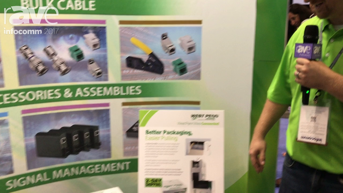 InfoComm 2017: West Penn Wire Shows the New Advantage Wire Boxes