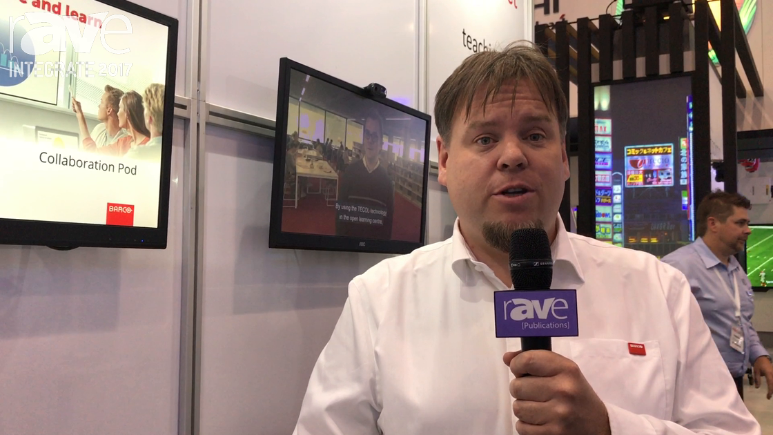 Integrate 2017: Barco Previews weConnect 1.2 on the Audio Visual Distributors Stand