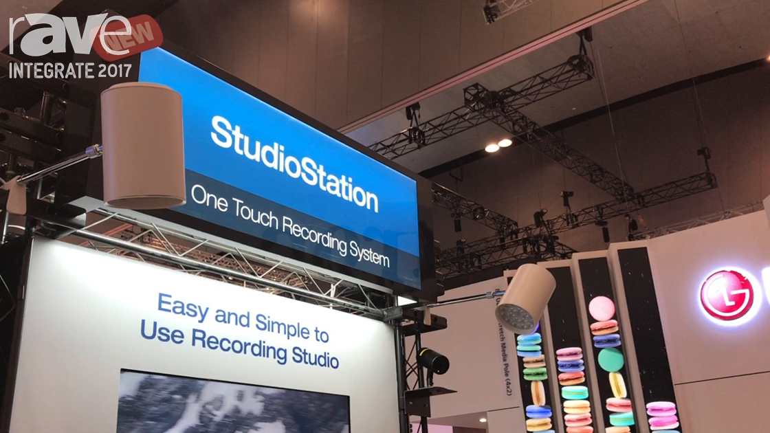 Integrate 2017: Extron Highlights Its Studio Station One Touch Recording System