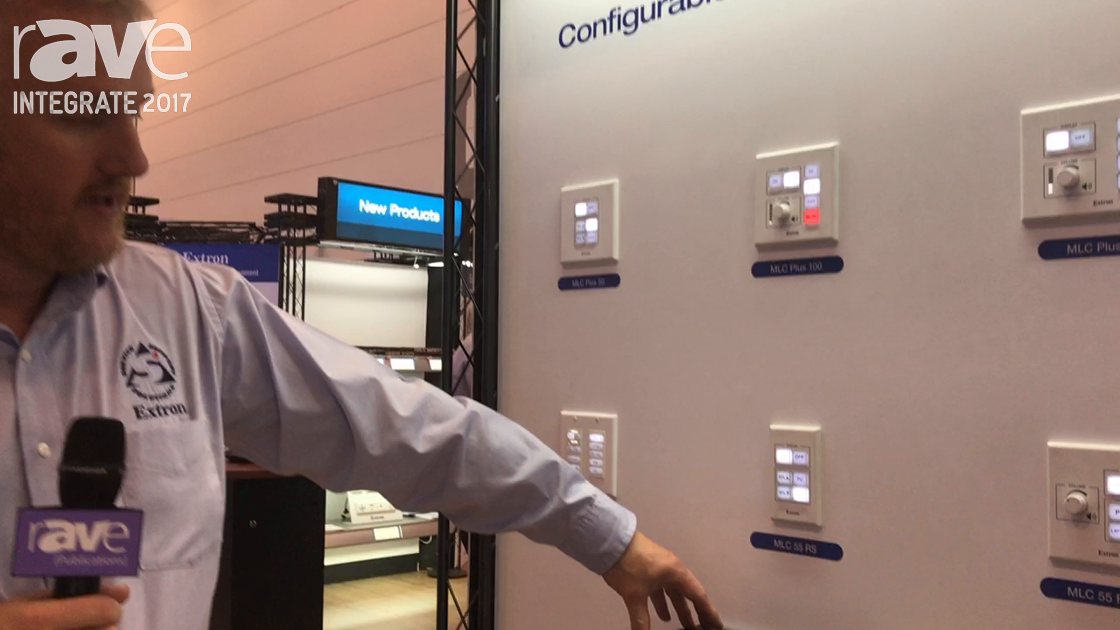Integrate 2017: Extron Showcases the EBP 1200C, One of Its Modular eBUS Cable Cubbies
