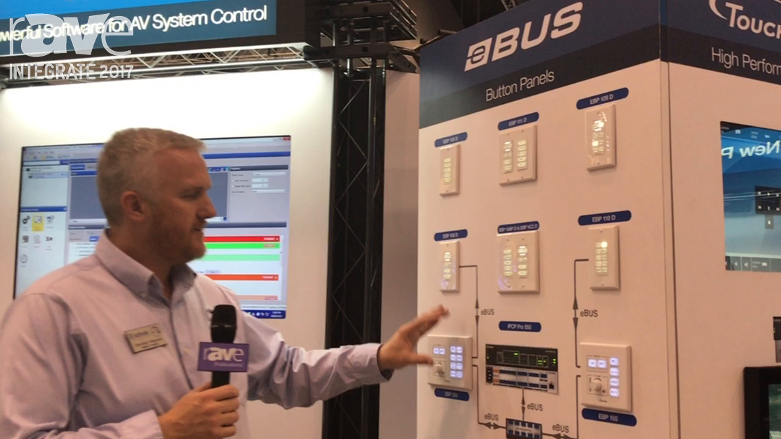 Integrate 2017: Extron Shows Off Its eBUS Button Panels