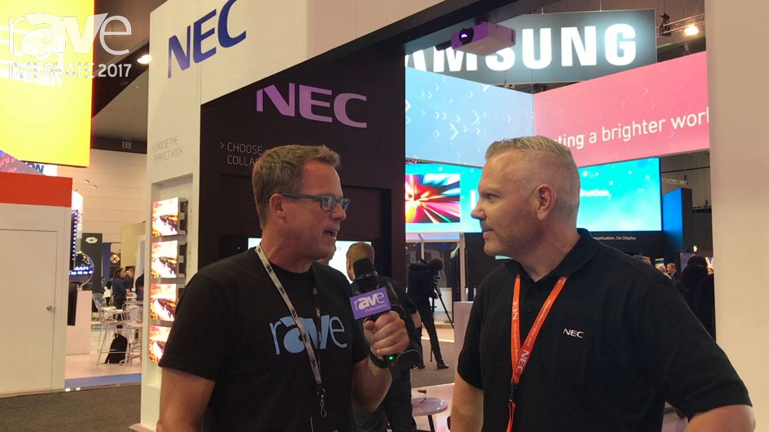 Integrate 2017: Gary Kayye Interviews Stuart Wise of NEC Australia