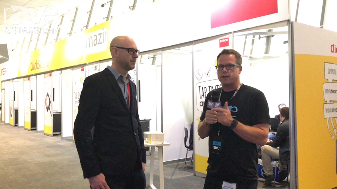 Integrate 2017: Gary Kayye Talks to Craig Saunders of Barco ClickShare