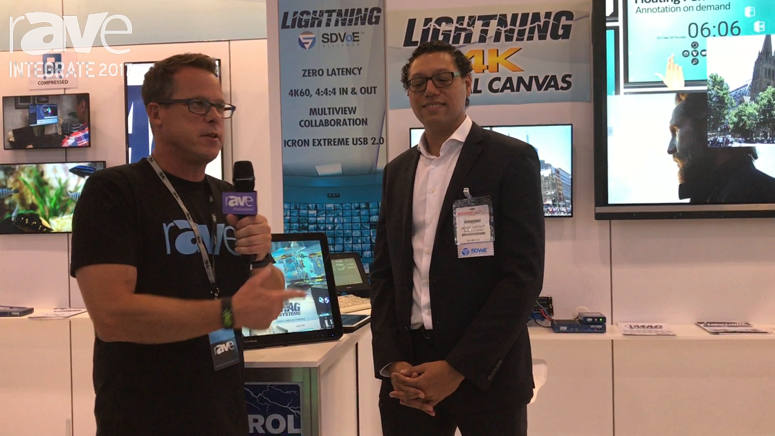 Integrate 2017: Gary Kayye Talks to iMAG Systems' Gerry Raffaut About AV-Over-IP and 4K