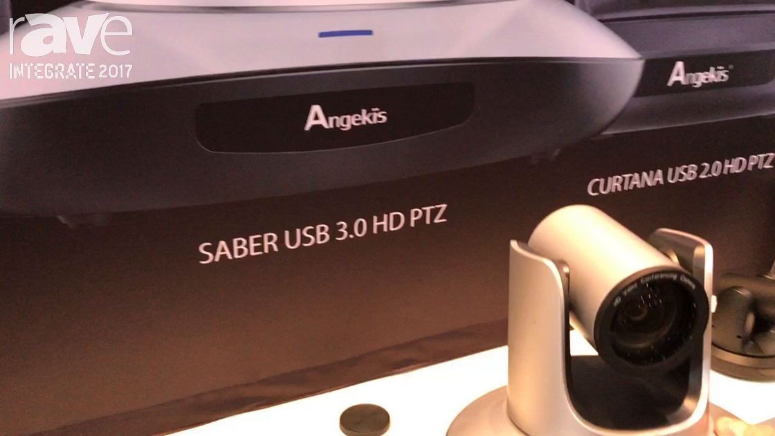 Integrate 2017: Angekis Features Its Saber USB 3.0 HD PTZ Camera for Videoconferencing