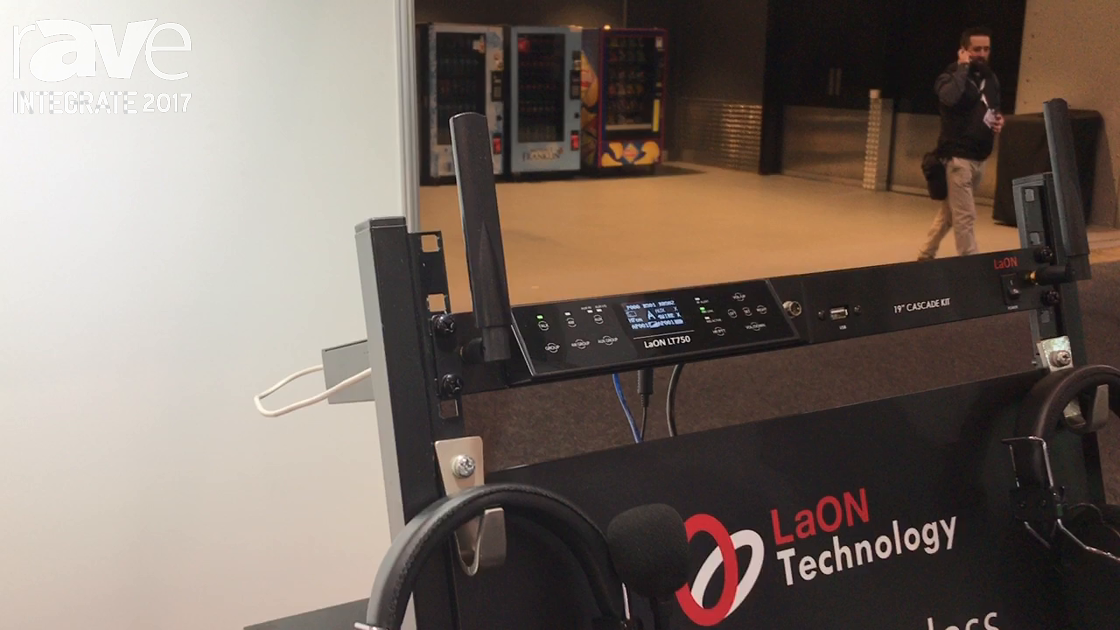 Integrate 2017: LaON Technology Showcases LT750 Digital Wireless Intercom System on the MTA Stand