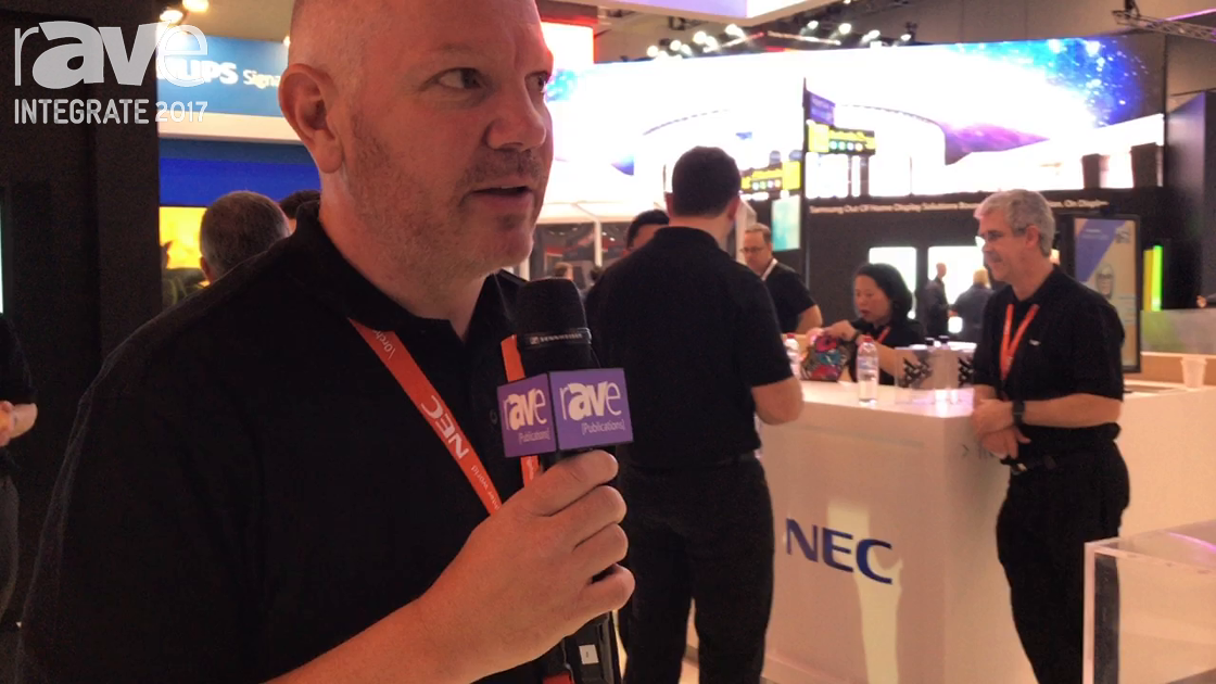 Integrate 2017: NEC Display Features Modular Computing Options for Its Displays