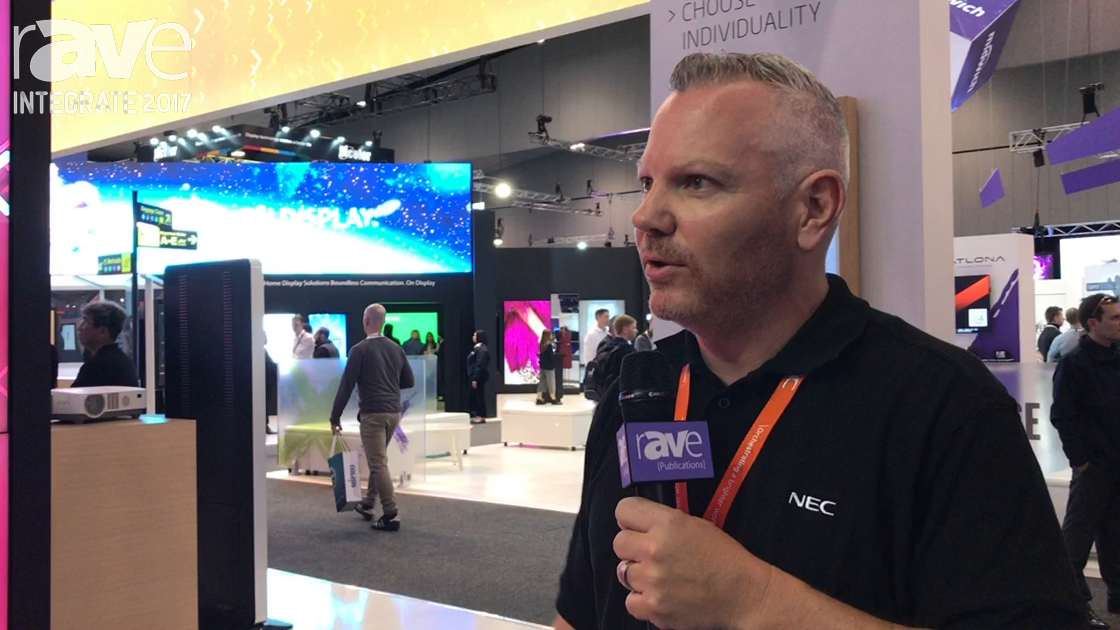 Integrate 2017: NEC Display Showcases Ultra-thin Video Wall Array