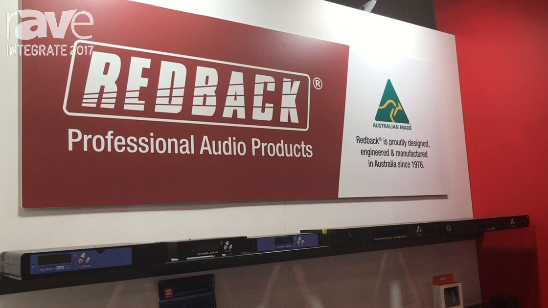 Integrate 2017: Altronic Distributors Manufactures Redback Professional Audio Equipment in Australia