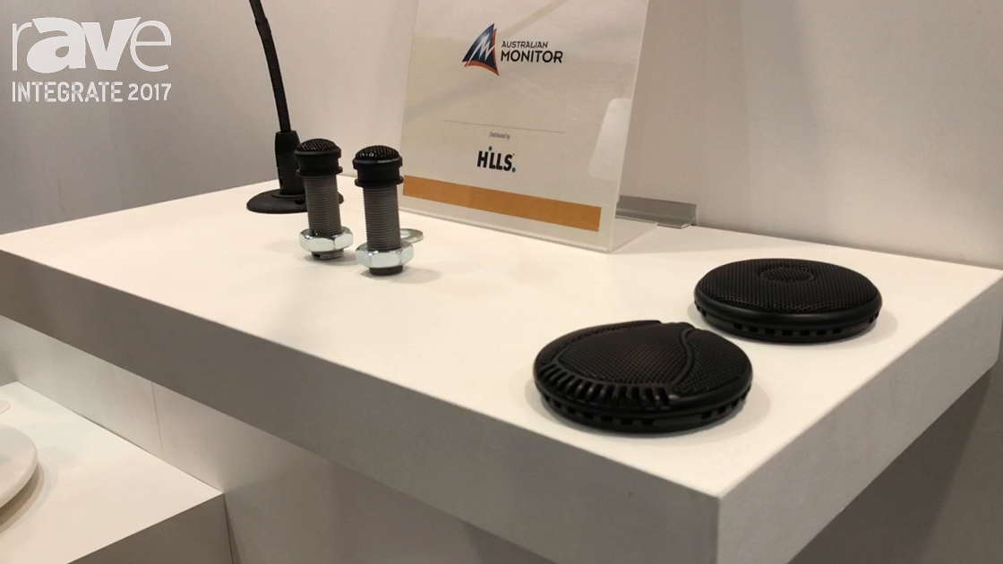 Integrate 2017: Australian Monitor Intros New Microphone Range on the Hills Stand
