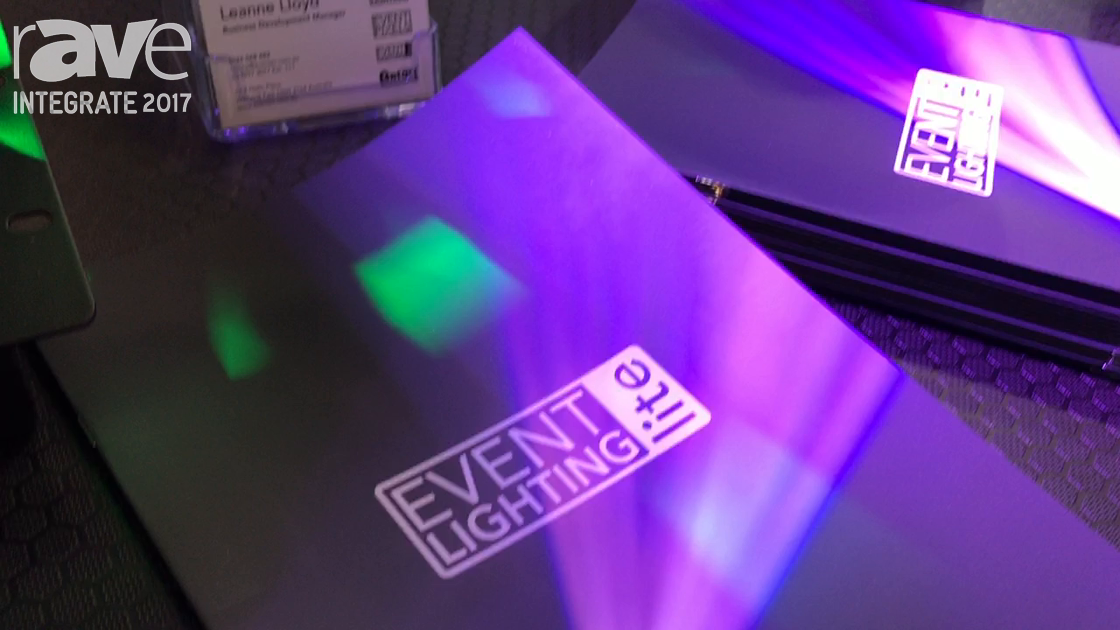 Integrate 2017: EventTech Shows Off Its Event Lighting Lite Range