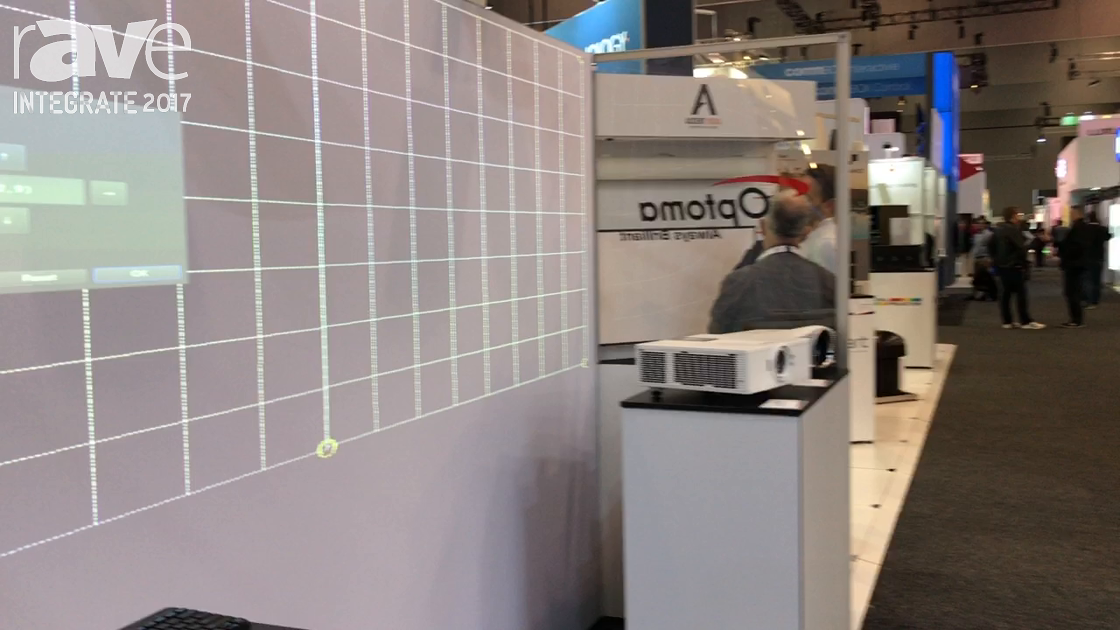 Integrate 2017: Optoma Demos Its Intelligent Blending System With the Magic Signage Puzzle