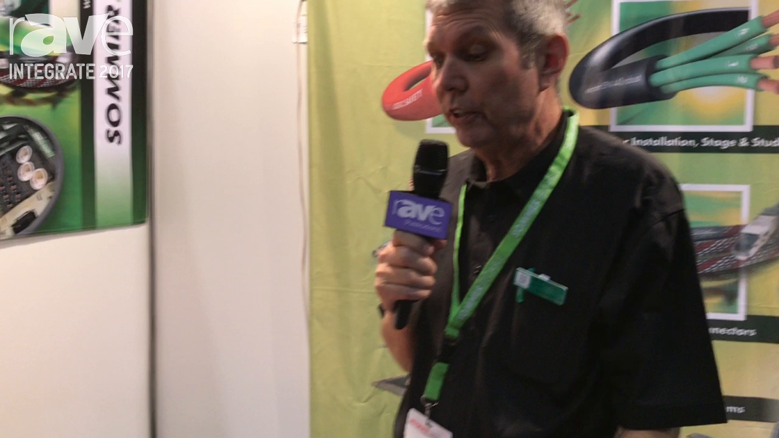 Integrate 2017: Sommer Cable Shows Off Line of Connectors on the T&G Stand