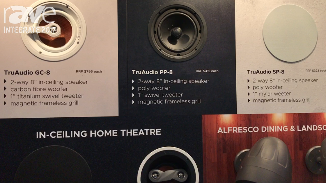 Integrate 2017: TruAudio Offers Range of Custom Install Residential Speakers