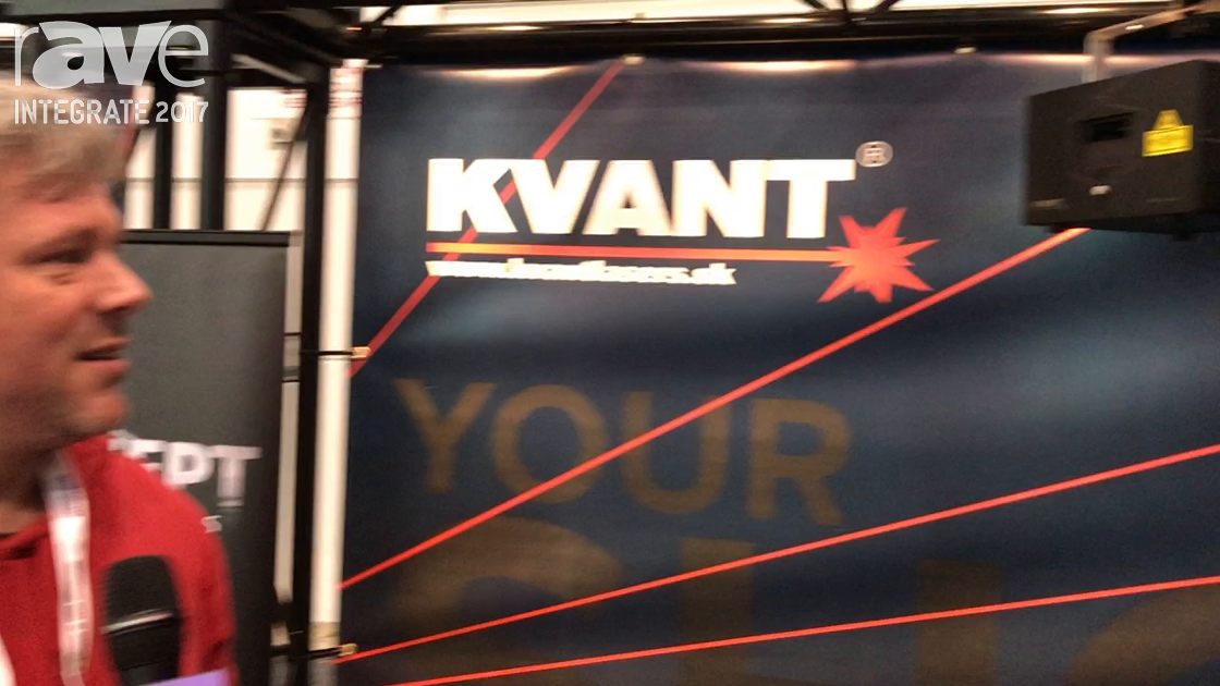 Integrate 2017: Visual Productions Features KVANT Laser Projector for Live Production