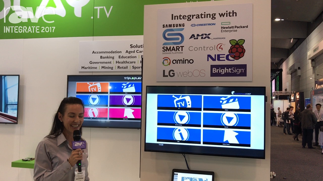Integrate 2017: Tripleplay Presents Its Digital Signage and IPTV Video on Demand Content Management