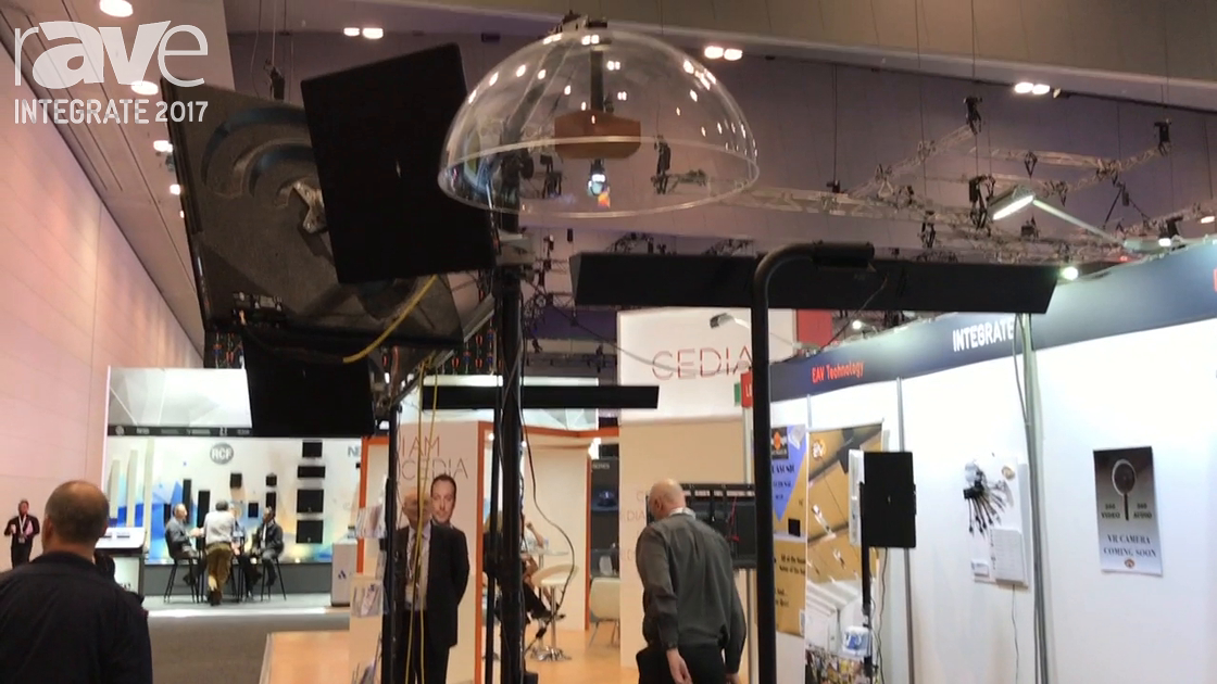 Integrate 2017: Brown Innovations Features the Sound Dome on the EAV Technology Stand