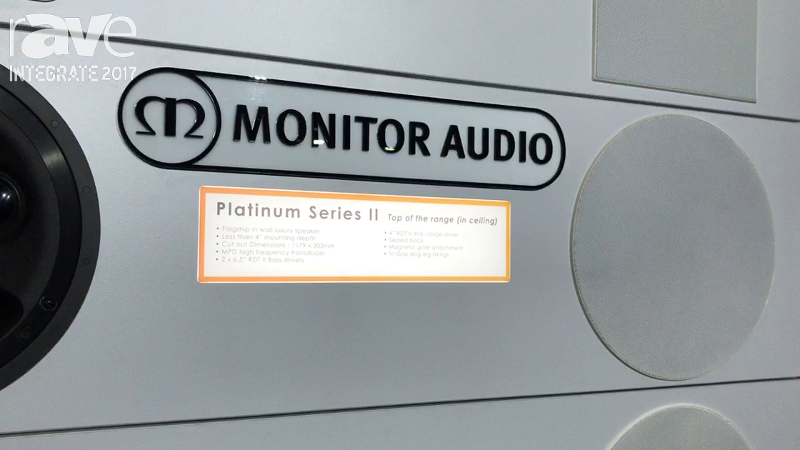 Integrate 2017: Monitor Audio Features Its Platinum Series II In-Ceiling Speaker
