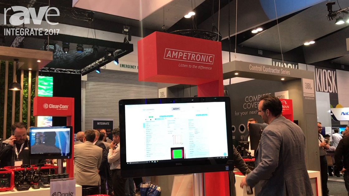 Integrate 2017: Ampetronic Intros D-Series of Dante Hearing-Loop Driver Amplifiers on Jands Stand