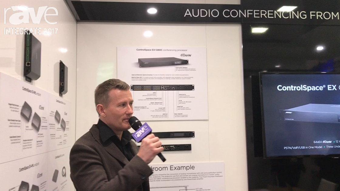 Integrate 2017: Bose Professional Features ControlSpace EX Conferencing Solution