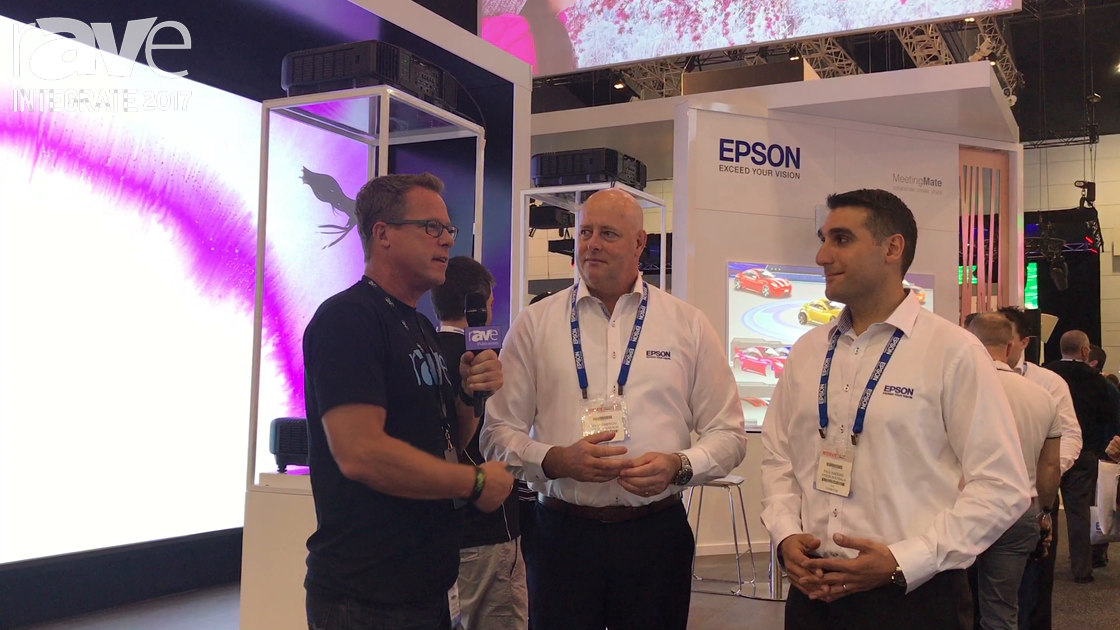 Integrate 2017: Gary Kayye Interviews David Simpson and Paul Haddad of Epson