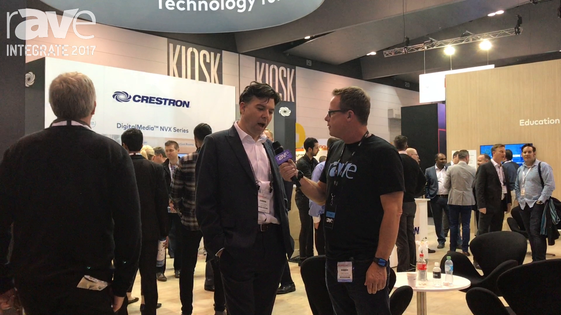 Integrate 2017: Gary Kayye Interviews Stuart Craig, CEO of Crestron Asia Pacific