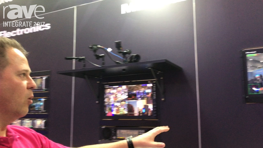 Integrate 2017: Marshall Electronics Demos Its Orchid Monitor, POV Cameras on the Corsair Solutions
