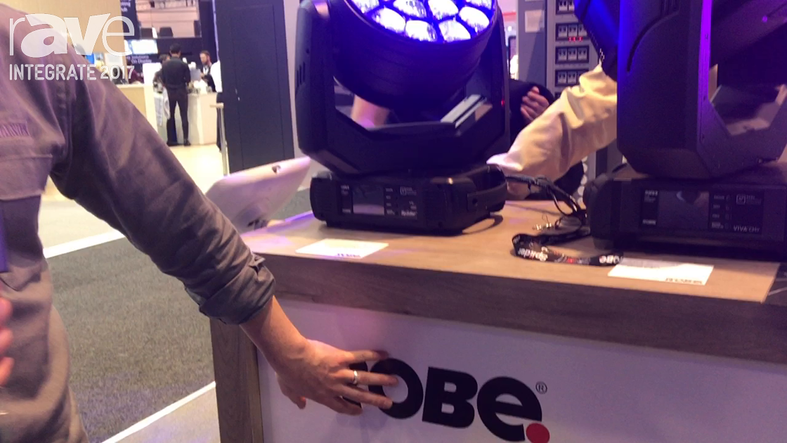 Integrate 2017: Robe Features Its Robe Spiider Moving Head Washlight on the JANDS Stand