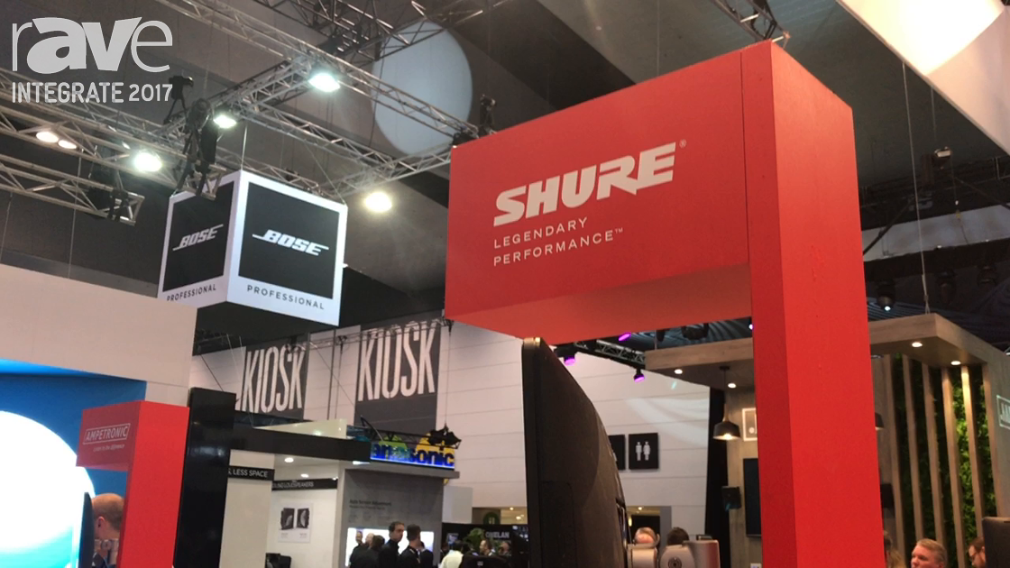 Integrate 2017: Shure Features ULX-D Digital Wireless Systems on the Jands Stand