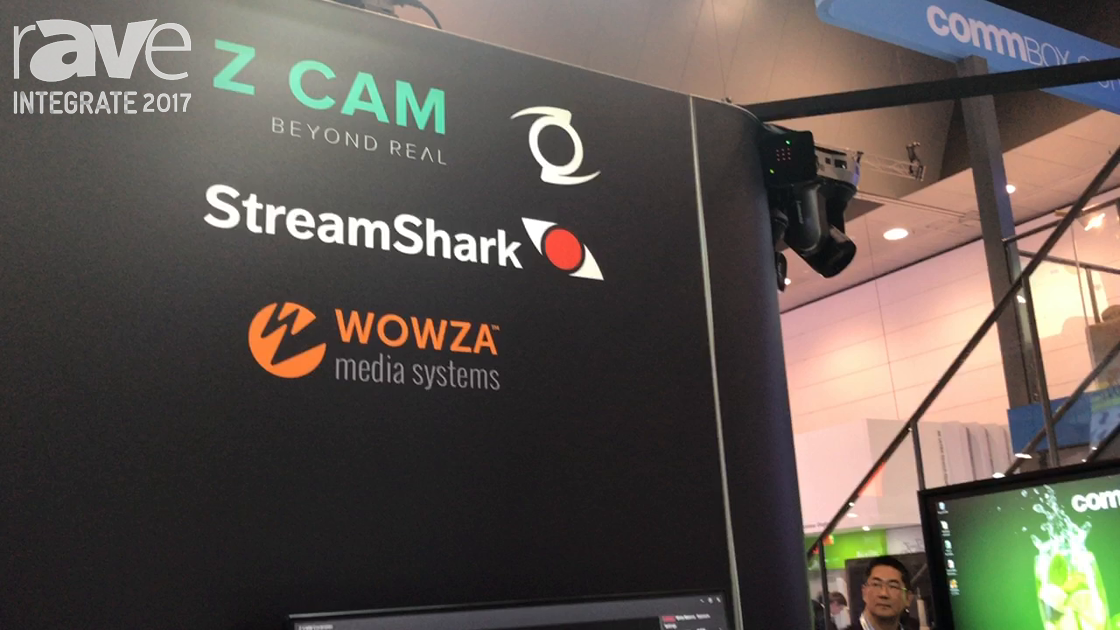 Integrate 2017: Z Cam Shows S1 Professional VR Camera and Controller on the Corsair Solutions Stand