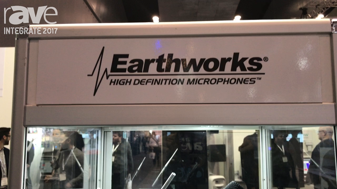 Integrate 2017: Audio Brands Australia Highlights Earthworks Audio High Definition Microphones