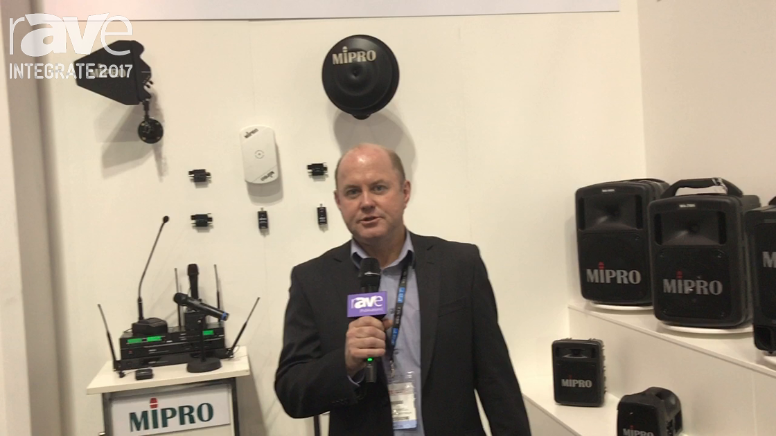 Integrate 2017: Audio Brands Australia Introduces Mipro Brand Audio Products