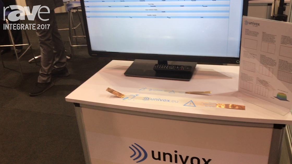 Integrate 2017: Audio Brands Australia Shows Univox Induction Loop Software, Amplifiers, Accessories