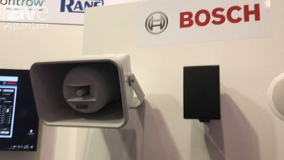 Integrate 2017: Bosch Security Shows Speakers for the Install Market at the Audio Brands Australia
