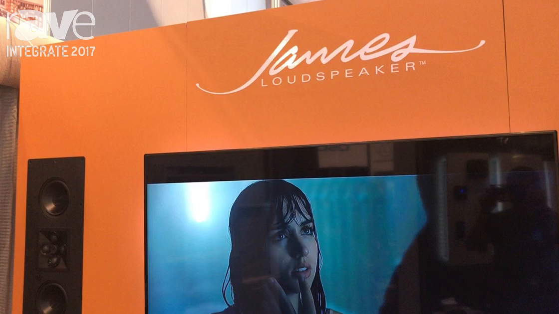 Integrate 2017: James Loudspeaker Shows Customizable Speaker Options at the Convergent Design Booth