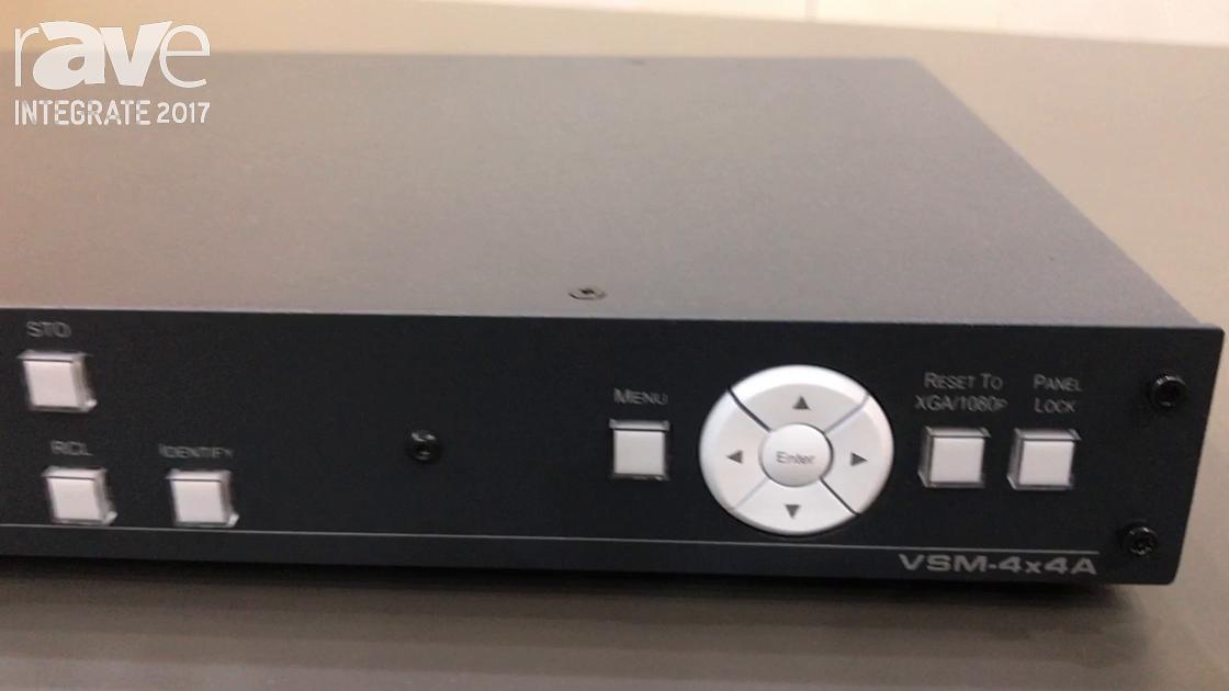 Integrate 2017: Kramer Talks About VSM-4x4A Instant Switcher