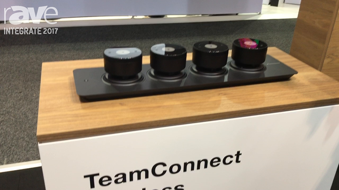 Integrate 2017: Sennheiser Displays TeamConnect Wireless Conferencing Solution