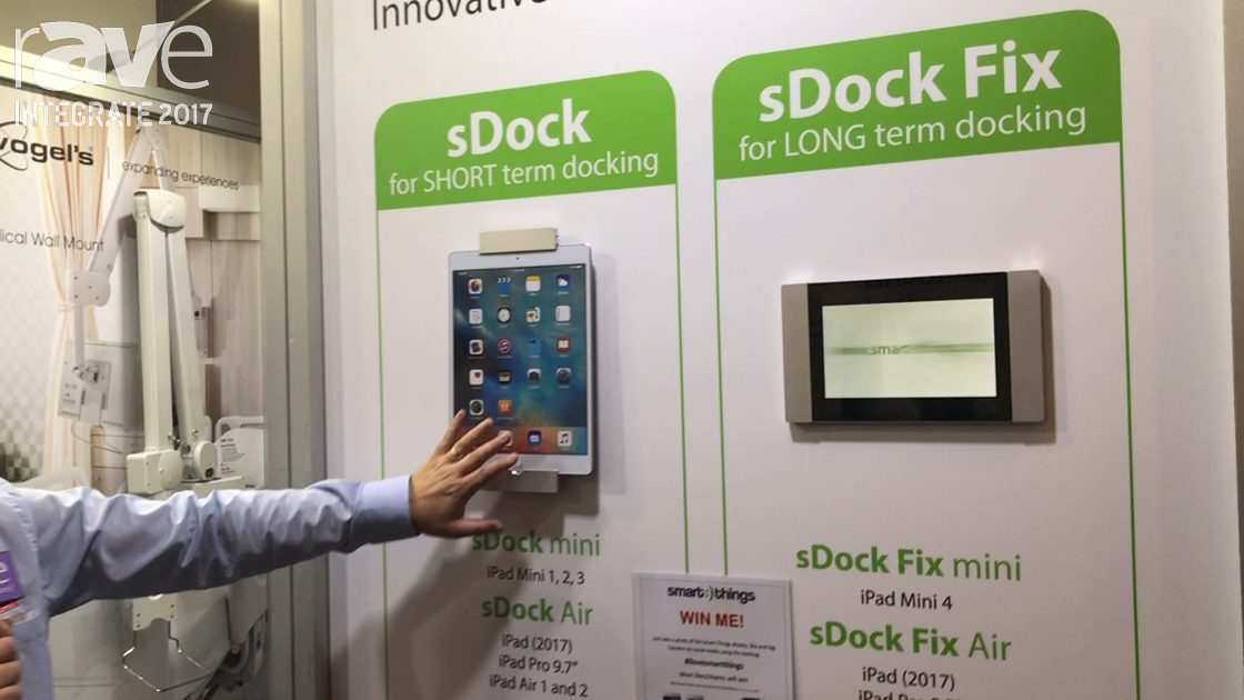 Integrate 2017: Smart Things Shows Short, Long Term iPad Mounting Solutions at Canohm Australia