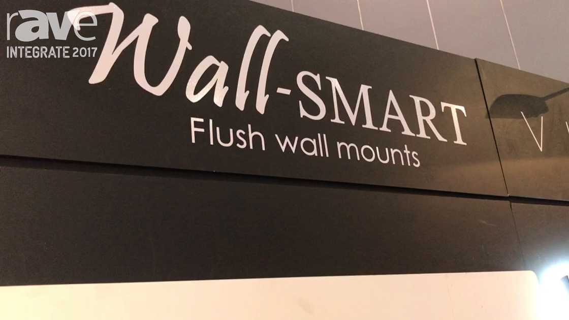 Integrate 2017: Wall-Smart Demos Flush Wall Mounts at the Convergent Design Booth