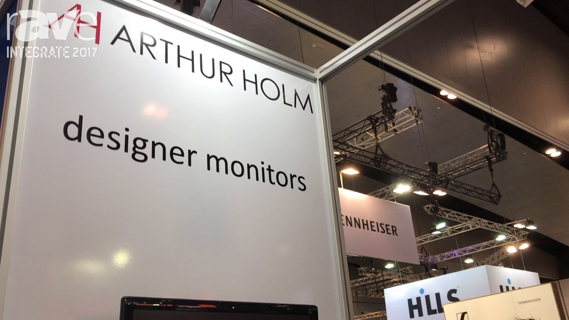 Integrate 2017: Arthur Holm Demos Automated Screen, Microphone Systems on the AV Distributors Stand
