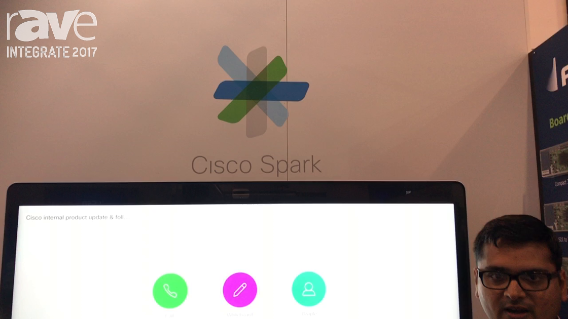 Integrate 2017: Cisco Features the Cisco Spark Board on the Ingram Micro Stand