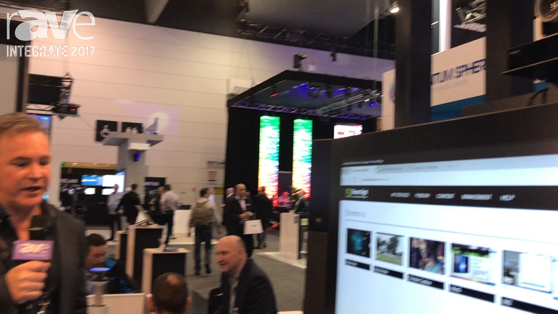 Integrate 2017: Polycom Demos EagleEye Director II on the Microsoft Surface Hub on the Ingram Micro
