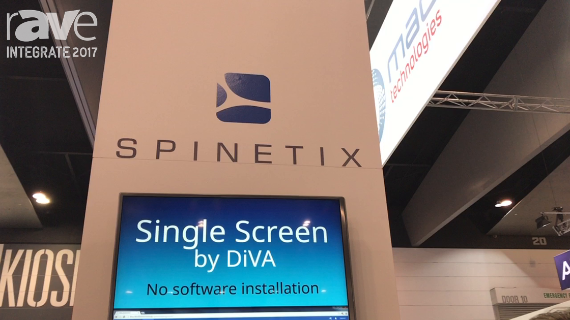 Integrate 2017: SpinetiX Demos HMP 3and DiVA Digital Signage Players at Madison Technologies Stand