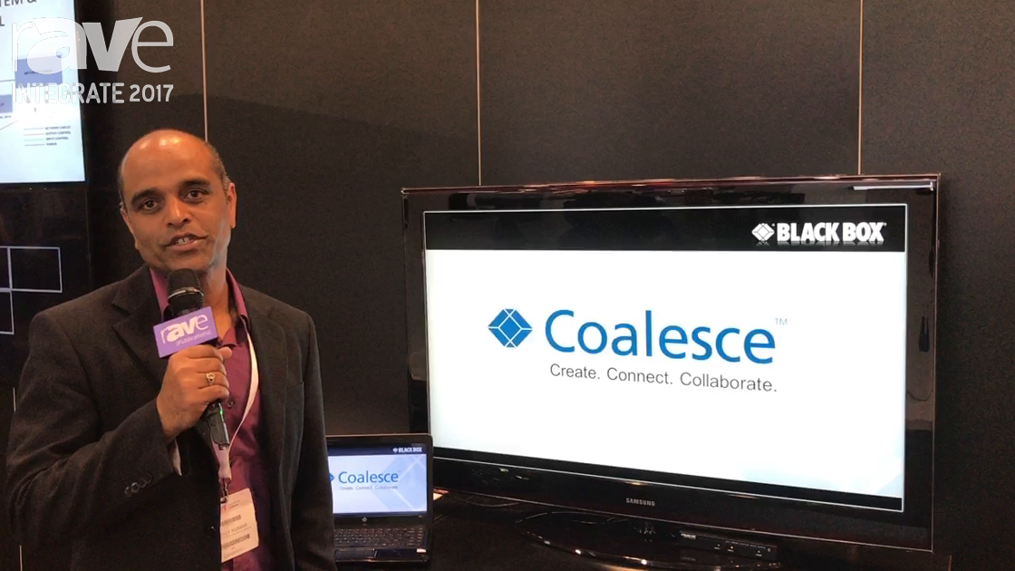 Integrate 2017: Black Box Features Its Coalesce Wireless Collaboration Solution for Conference Rooms
