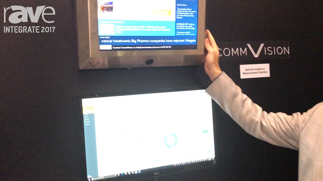 Integrate 2017: CommVision Offers In-Elevator Displays With Built-In Quividi Audience Measurement